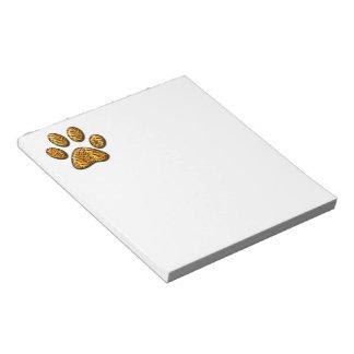 Tiger Paw #1 Notepad