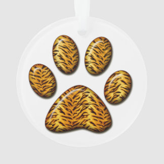 Tiger Paw #1 Ornament