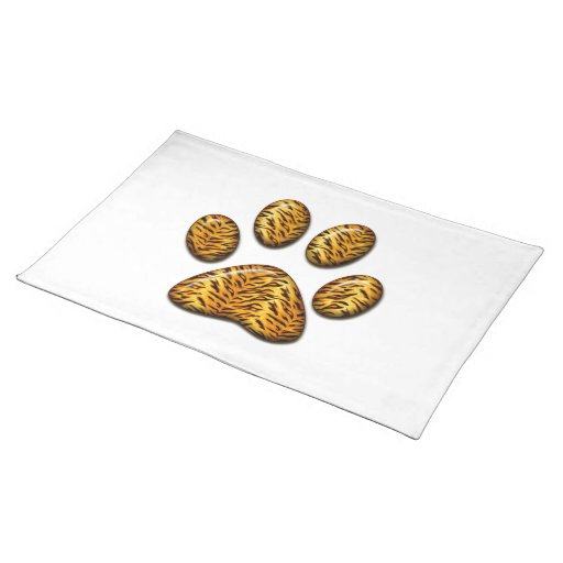 Tiger Paw #1 Placemats