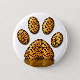 Tiger Paw #2 Button