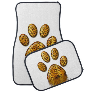 Tiger Paw #2 Car Floor Mat