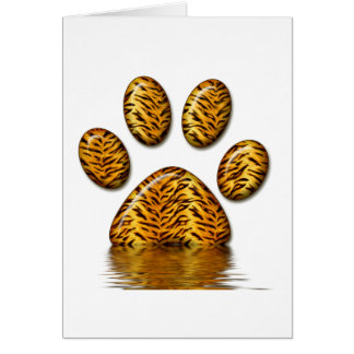 Tiger Paw #2 Card