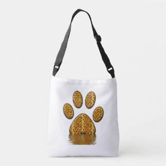 Tiger Paw #2 Crossbody Bag