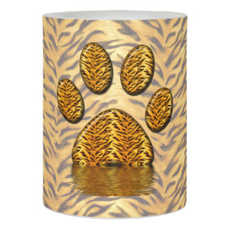 Tiger Paw #2 Flameless Candle