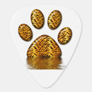 Tiger Paw #2 Guitar Pick