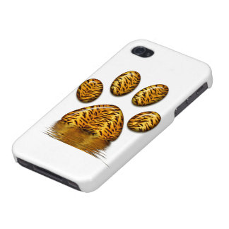 Tiger Paw #2 iPhone 4 Case
