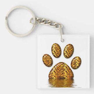 Tiger Paw #2 Keychain