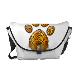 Tiger Paw #2 Messenger Bag