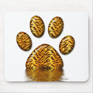Tiger Paw #2 Mouse Pad