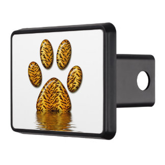 Tiger Paw #2 Trailer Hitch Cover