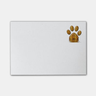 Tiger Paw #2 Post-it Notes