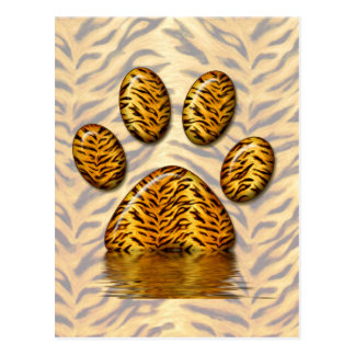 Tiger Paw 2 Post Cards