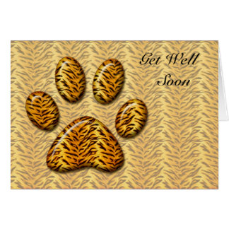 Tiger Paw Card