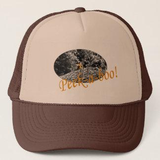 Tiger Peek-a-boo Hat