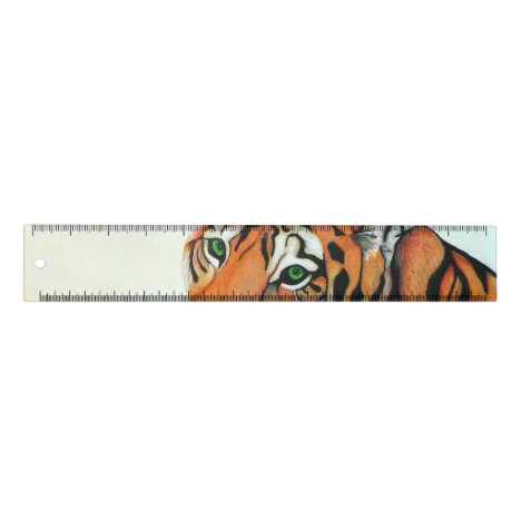 Tiger (Pencil by Kimberly Turnbull Art) Ruler