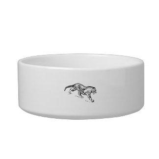 Tiger Cat Bowl