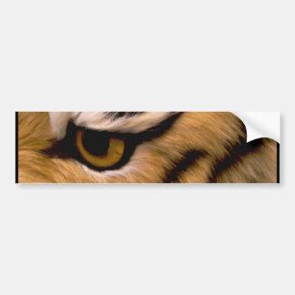 Tiger Photo Bumper Sticker