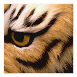 Tiger Photo Invitation
