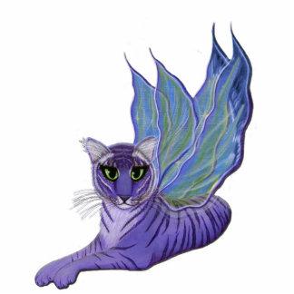 Tiger Pixie Fairy Fantasy Cat Photo Sculpture