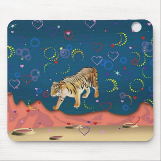 Tiger Planet Mousepads