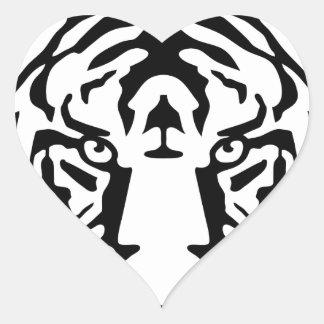 tiger png calcomania corazon
