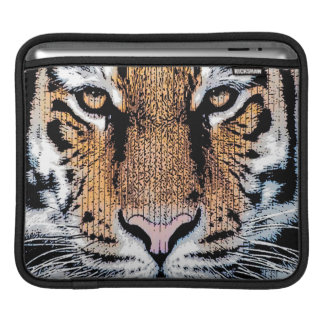 Tiger Portrait Graphic Style Sleeve For iPads