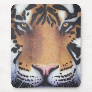 Tiger Portrait Mouse Pad