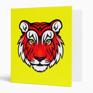 Tiger Portrait (Red) Binder