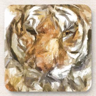 Tiger Portrait Sketch (2012) Beverage Coasters