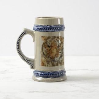 Tiger Portrait Sketch (2012) Coffee Mug