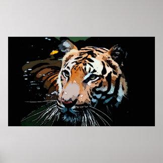 Tiger Poster Print - Pop Art Posters