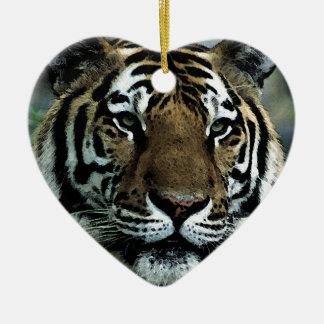 Tiger Power Christmas Ornaments