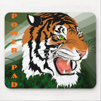 Tiger Power Pad Mouse Pad