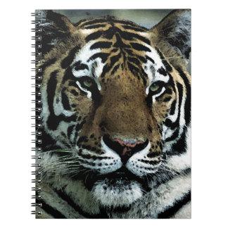 Tiger Power Spiral Note Book