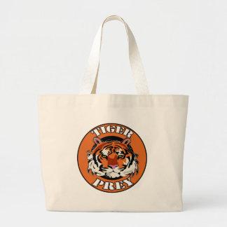 Tiger Prey Biker T shirts Gifts Canvas Bag