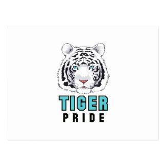 TIGER PRIDE POSTCARD