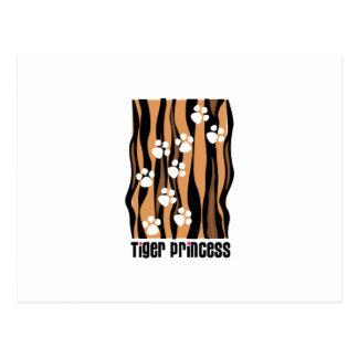 Tiger Princess Post Card