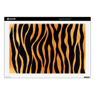 "Tiger Print 17"" Laptop For Mac & PC Skin Skin For Laptop"