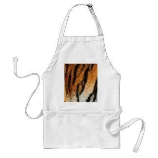 Tiger print adult apron