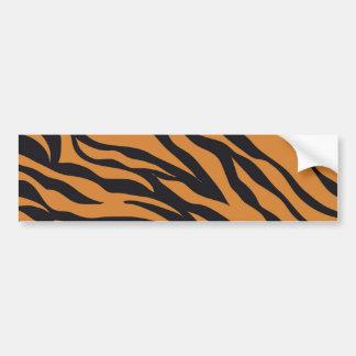 Tiger Print Bumper Stickers
