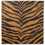 Tiger Print Cloth Napkin