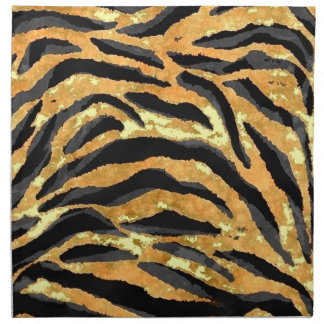 TIGER PRINT CLOTH NAPKIN