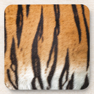 Tiger Print Drink Coaster