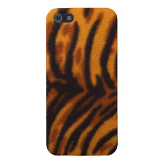 Tiger Print Fabric Look iphone5 case