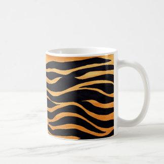 Tiger Print Golden and Black Mug