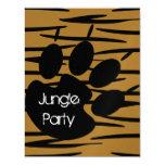 Tiger Print Invitations