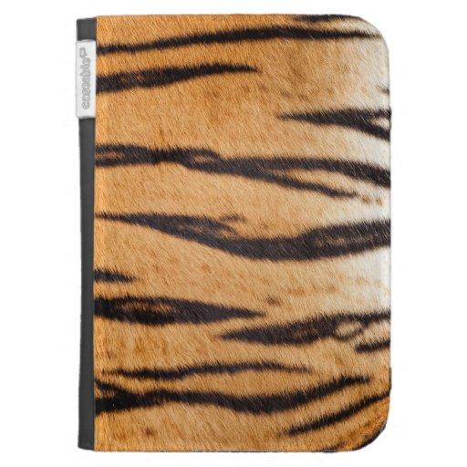 Tiger Print Kindle Cover