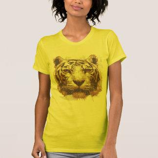 Tiger Print Light Ladies Basic Shirt