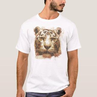Tiger Print Light Men's T-Shirt