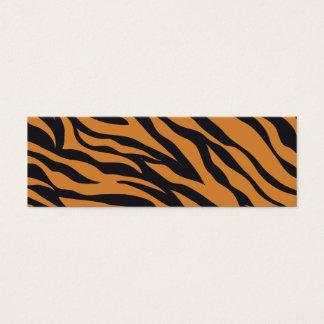 Tiger Print Mini Business Card
